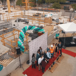 Portfolio - Hyatt Place Pasadena Groundbreaking Ceremony Event Aerial Videography